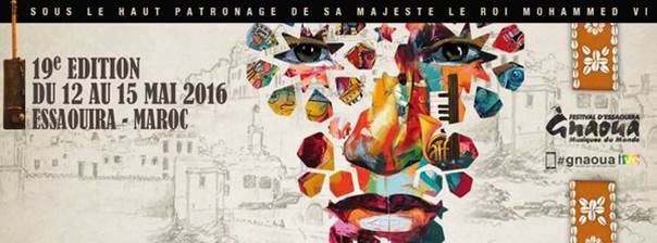Gnaoua Music Festival Poster - 19 Edition