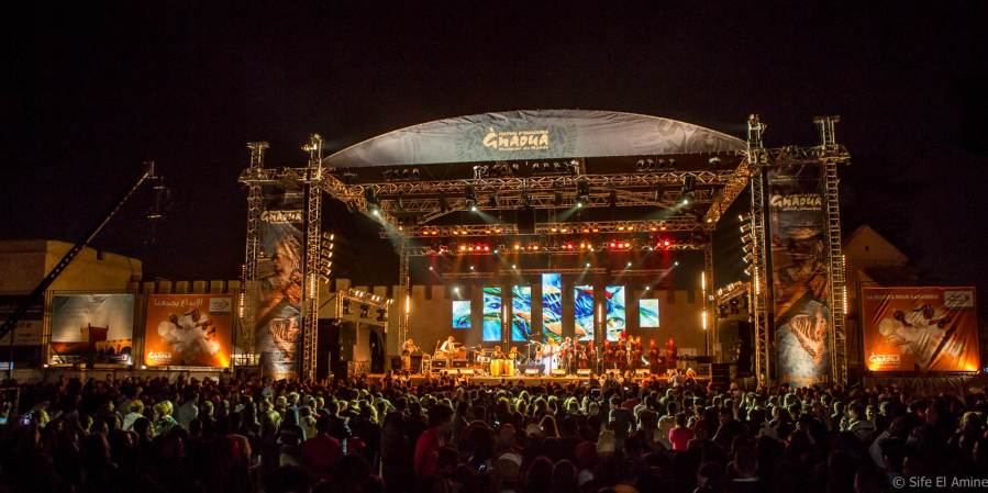GNAOUA WORLD MUSIC FESTIVAL Stage