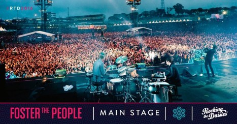 Foster The People - Rocking The Daisies 2016 Lineup