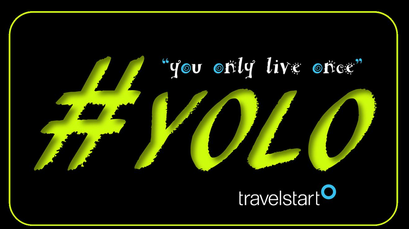 Start Travel - #yolo - Travelstart Banner