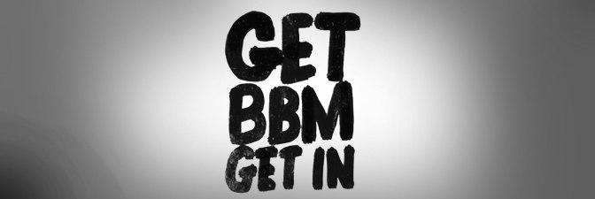 Get BBM Get In