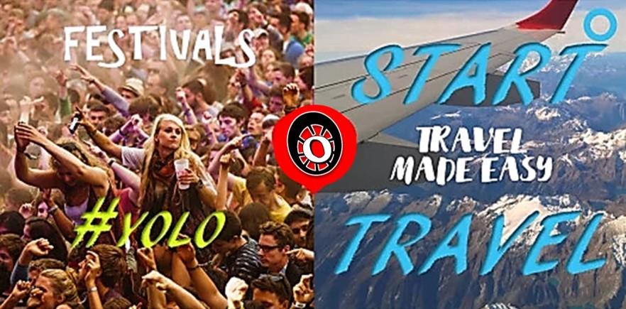 Start Travel Poster